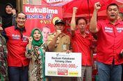 Gandeng Ade Rai, Sido Muncul Beri Bantuan Korban Kebakaran Tomang