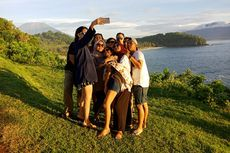 Seru! Peserta Take Me Anywhere 3 Menikmati Matahari Terbit di Bali
