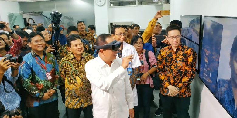 Honeywell dan UGM meresmikan laboratorium teknologi simulasi canggih dilengkapi AR/VR di Fakultas Teknik UGM (28/11/2018) di Yogyakarta.