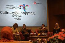 Wonderful Indonesia Culinary and Shopping Festival Siap Digelar