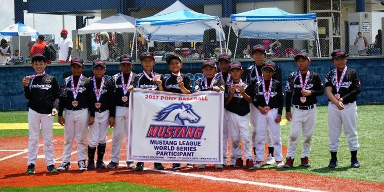 Tim Bisbol  Banten Lorenz Tiger mampu menempati peringkat 5 pada perhelatan Turnamen World Series PONY 2017 usia U10 di Youngsville Louisiana, Amerika Serikaat.