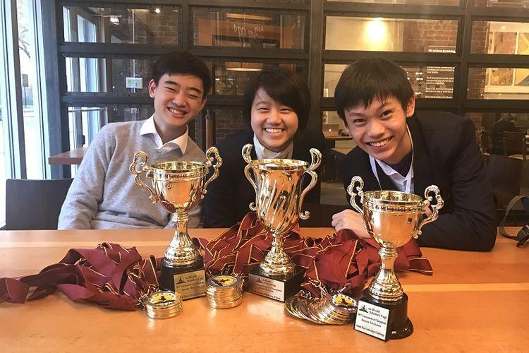 Siswa SWA pada ajang World Scholars Cup.