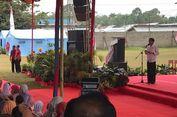 Jokowi Cek Program Padat Karya Tunai di Kabupaten Dharmasraya