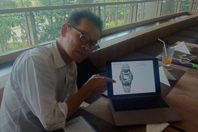 Design Manager of Casio Timepiece, Ryusuke Moriai