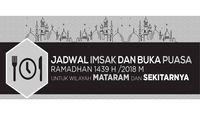 Jadwal Imsak dan Buka Puasa di Mataram pada Hari Ini