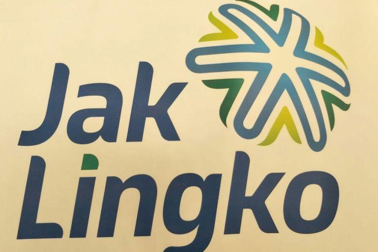 Logo baru Jak Lingko hasil sayembara ditampilkan di Balai Kota DKI Jakarta, Sabtu (10/11/2018).