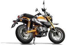 Fitur Honda Monkey Z125 yang Bisa Cegah Motor Terjungkal