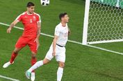 Babak 1, Gol Cepat Mitrovic Bawa Serbia Unggul atas Swiss