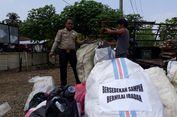 Bantu Keluarga Miskin, Seorang Polisi di Bengkulu Kumpulkan Sampah