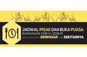 Jadwal Imsak dan Buka Puasa di Denpasar pada Hari Ini