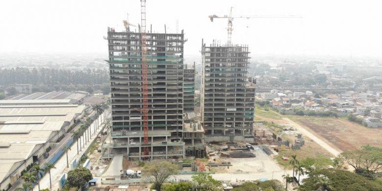 Berlokasi di Daan Mogot, Jakarta Barat, proyek superblok ini dikembangkan oleh China Communication Construction Group (CCCG)