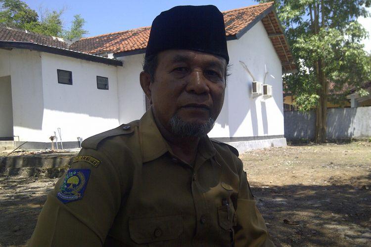 Kepala Bidang Pembinaan Penempatan dan Perlindungan Tenaga Kerja Indonesia Kabupaten Bima, H Mustafah