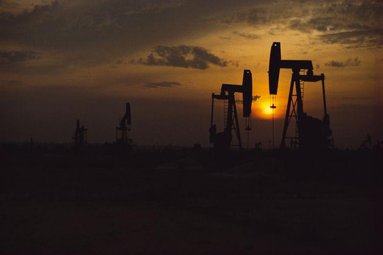 Kondisi Pumping Unit, Duri Field di Blok Rokan yang dikelola PT Chevron Pacific Indonesia pada 2009.