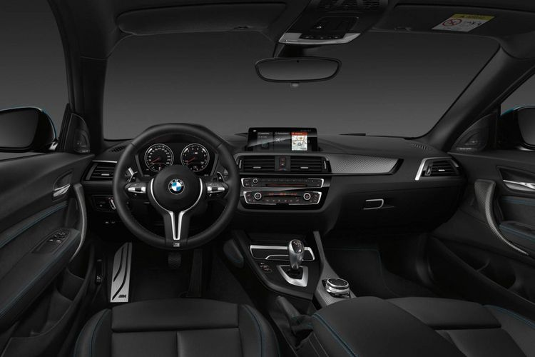 Interior model BMW M2 Competition 2018.