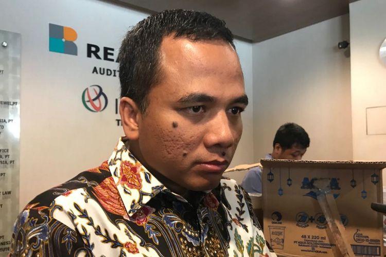 Wakil Ketua Umum Partai Persatuan Pembangunan (PPP) Arwani Thomafi.