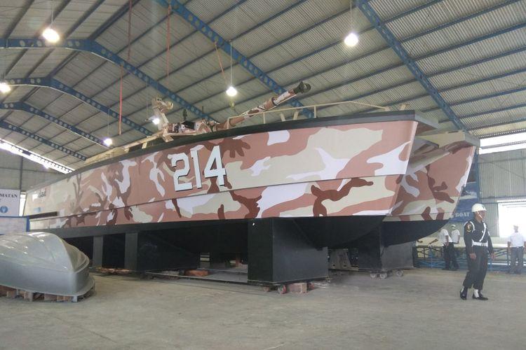 Dari Banyuwangi, Tank Boat Pertama di Dunia Lahir dengan Nama Antasena, Siap Menghantam para Perompak