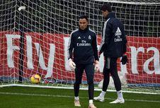 Courtois dan Navas Berebut Posisi Inti di Real Madrid