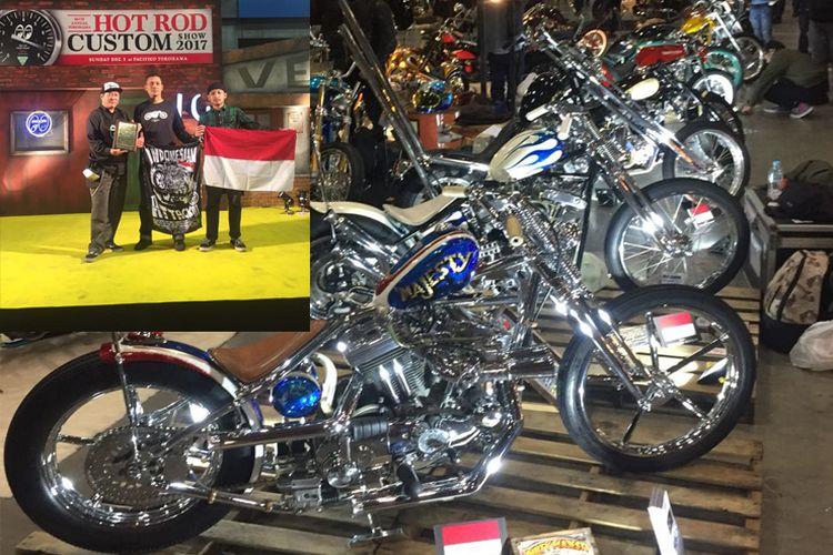 9 Motor Kustom asal Indonesia di Yokohama Hot Rod Custom Show, Jepang