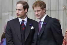 Menelisik Beda Gaya Pangeran William dan Pangeran Harry...