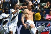 Tampar Kepala Lawan, Ibrahimovic Dapat Kartu Merah Pertama di MLS