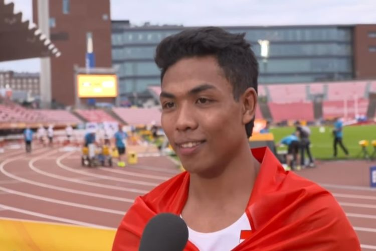 Sprinter asal Indonesia, Lalu Muhammad Zohri (18) mengukir sejarah dengan memenangkan ajang Kejuaraan Atletik Dunia U-20 di Finlandia. (YouTube/IAAF)