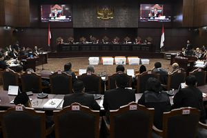 Saksi Prabowo-Sandiaga Mengaku Takut karena Berstatus Terdakwa