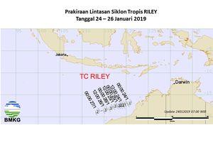 Lahirnya Siklon Tropis Riley Picu Perubahan Cuaca di Indonesia