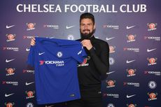 Olivier Giroud Bergabung ke Chelsea, Batshuayi ke Dortmund