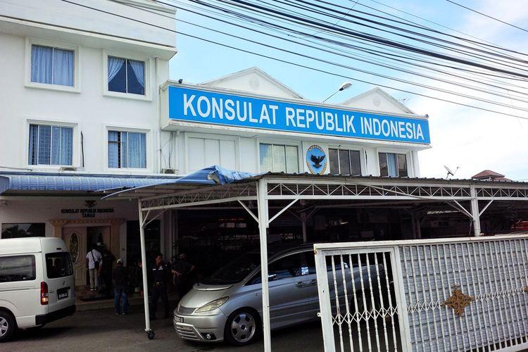Konsulat RI di Kota Tawau, Malaysia.