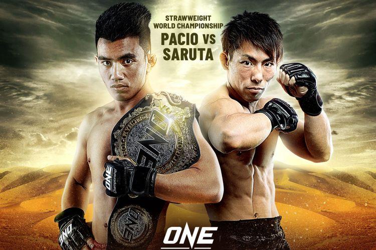 ONE: Eternal Glory akan mempertemukan Joshua Pacio dan Yosuke Saruta dalam laga strawweight world championship.