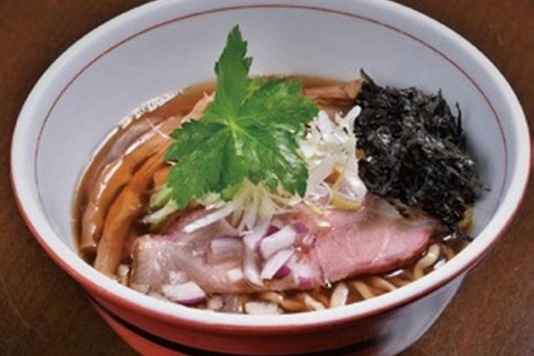 Dried Anchovy Soba