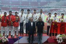Tim Estafet Atletik Dipertahankan Hingga Olimpiade 2020