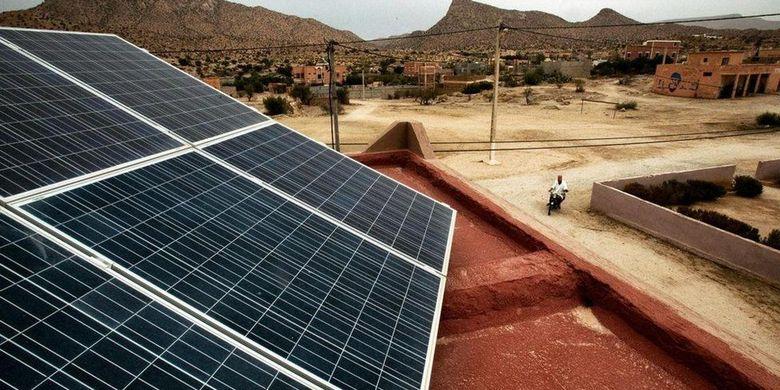 ini akibatnya jika panel surya dan turbin angin di pasang di gurun sahara
