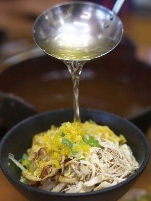 Nasi Ayam di Ganso Keihan Minatoya
