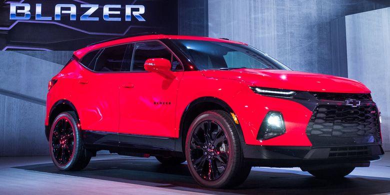 Chevrolet Blazer 2019.