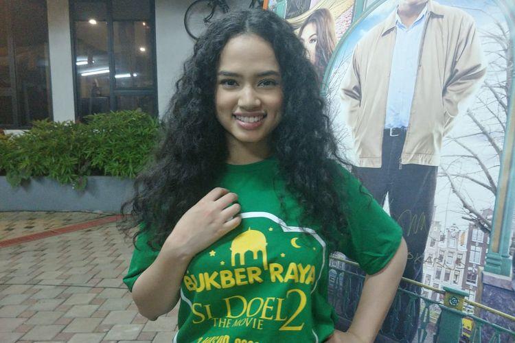 Wizzy saat ditemui di kawasan Lebak Bulus, Jakarta Selatan, Selasa (14/5/2019).