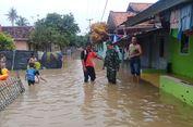 Sungai Cibeet Meluap, Puluhan Rumah di Dua Desa di Karawang Terendam Banjir
