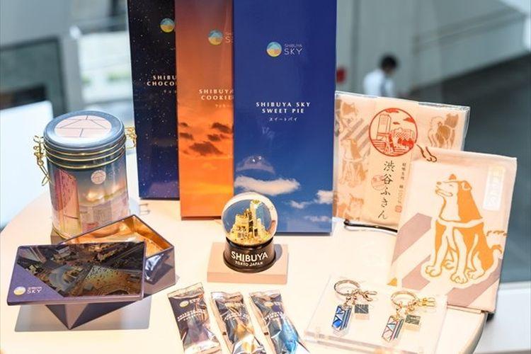 Toko suvenir di observatorium lantai teratas SHIBUYA SKY, Shibuya Sky Souvenir Shop