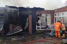 Diduga akibat Korsleting, Kebakaran Hanguskan Warung Makan dan Gudang Barang Bekas