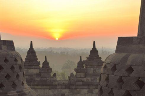 Perdana, 1.500 Balon LED Bakal Meriahkan Tahun Baru di Candi Borobudur