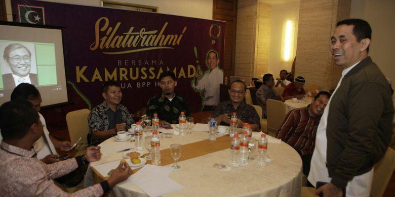 Munas ke-X Korps Alumni KAHMI, di Medan, Kamis (16/11/2017).