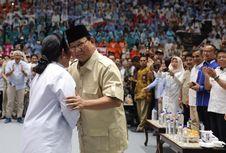 Seusai Shalat Id, Prabowo Silaturahim dengan Keluarga Cendana