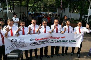 Ini Struktur Tim Kampanye Jokowi-Ma'ruf