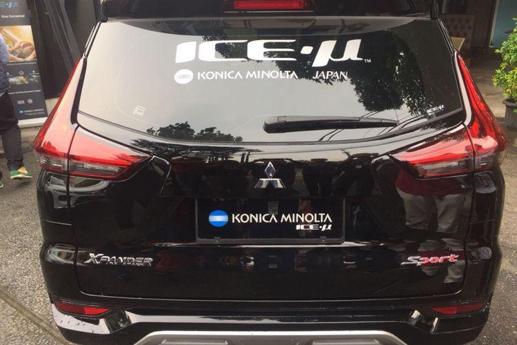 Kaca film Konica Minolta ICE-µ merupakan produk OEM Mitsubishi Xpander.