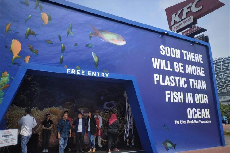 KFC Untuk Laut Indonesia di Paramount, Serpong