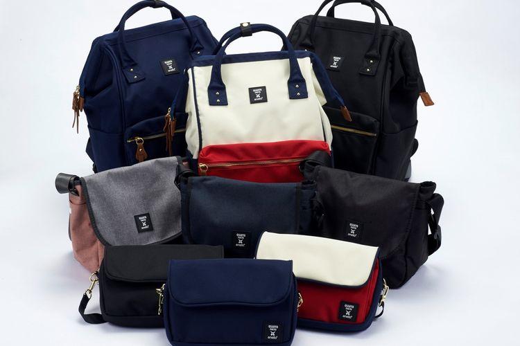 Setipa tas di koleksi GIANTS x anello ® memiliki tiga variasi warna