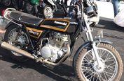 Motor Lawas Kawasaki Ini Ibarat 'Kakek-nya' W175
