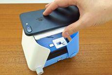 Printoss, Printer Foto Portabel Tanpa Baterai untuk Ponsel