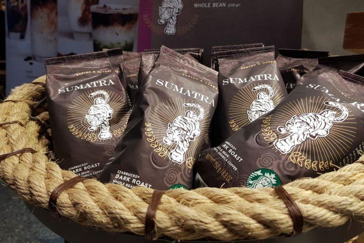 Biji kopi Sumatra Starbucks