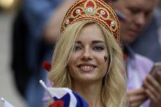 Viral, Wanita Suporter Rusia, Jago Prediksi, Tepis Cap Bintang Porno